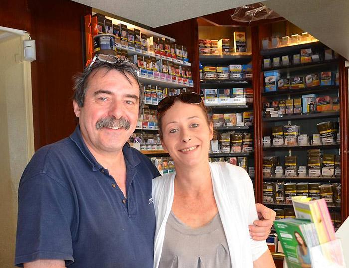 Bureau de tabac à Melesse